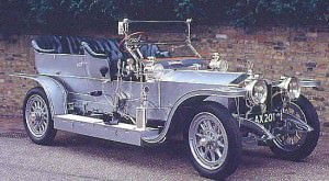 Primul model - Silver Ghost